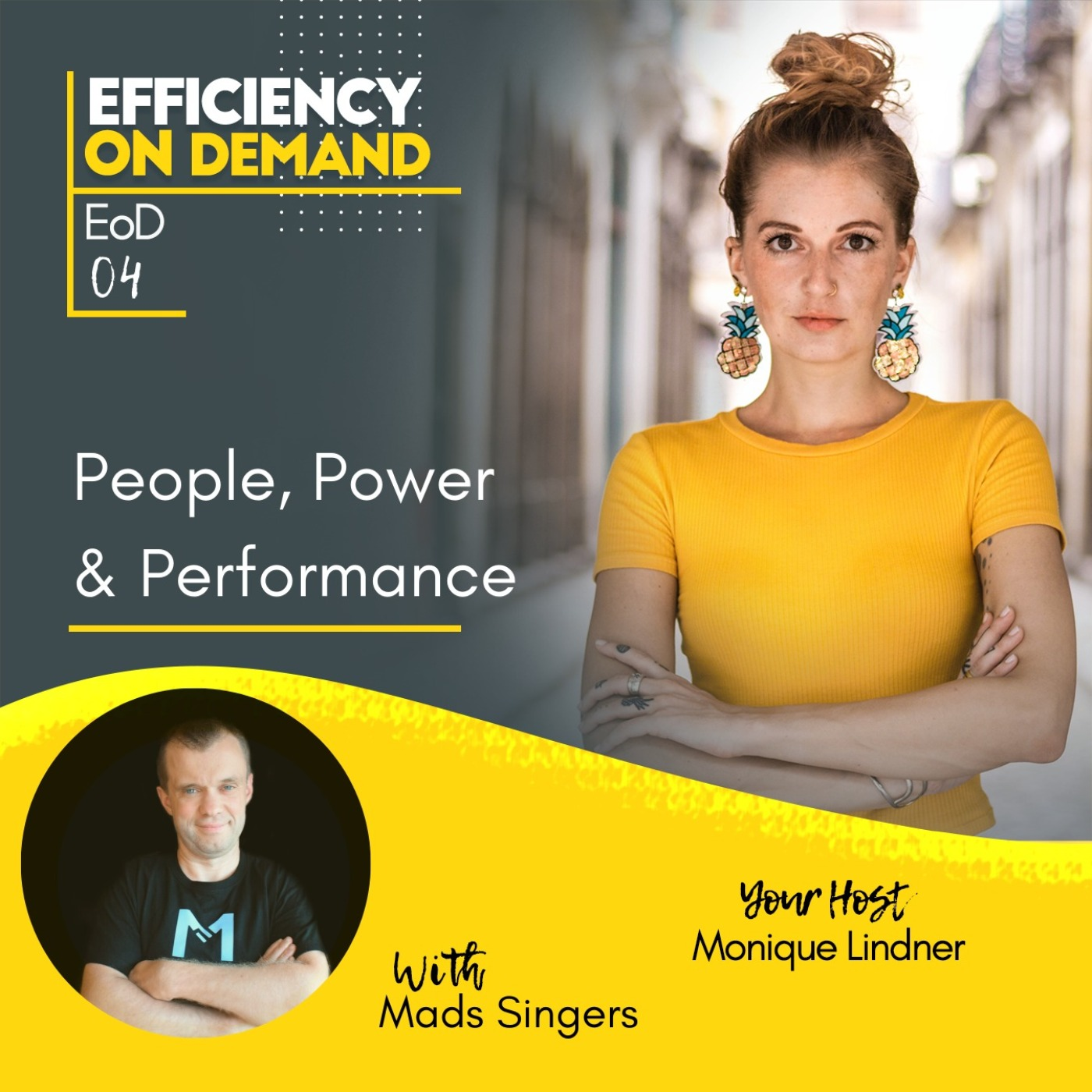 People, Power & Performance with Mads Singers