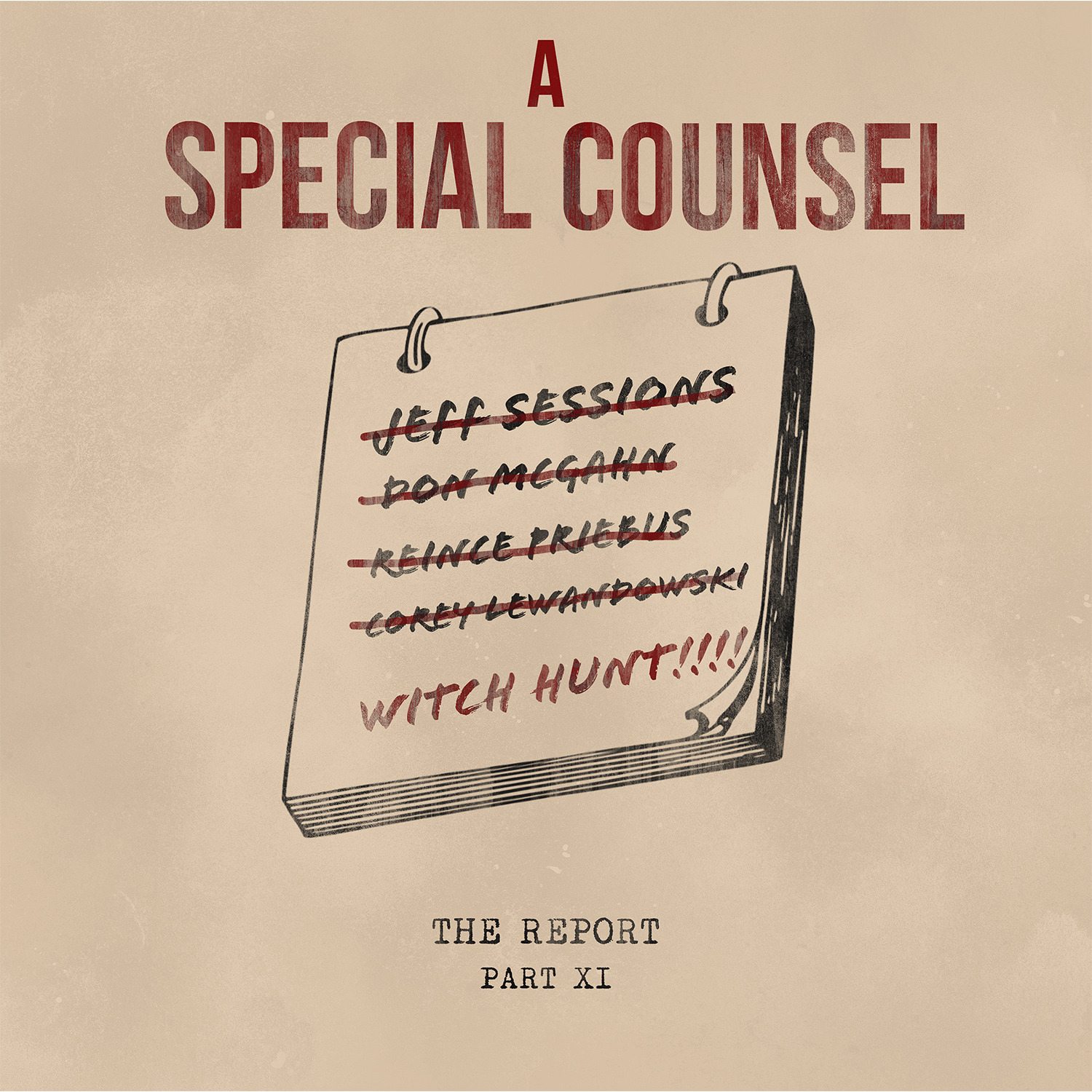 Part XI: A Special Counsel