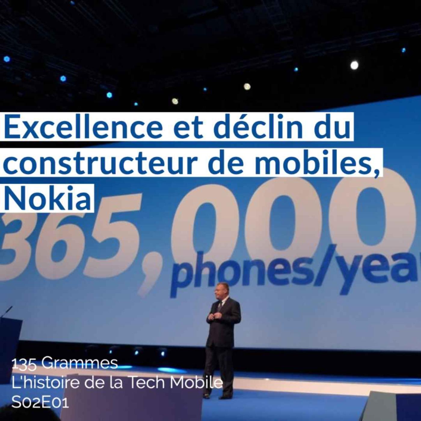 Excellence et déclin du constructeur de mobiles, Nokia