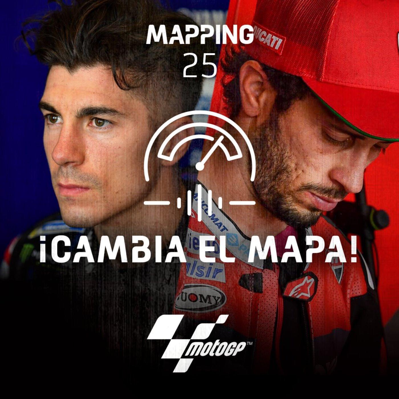 Mapping 25: El vértigo del título y el salto de Morbidelli