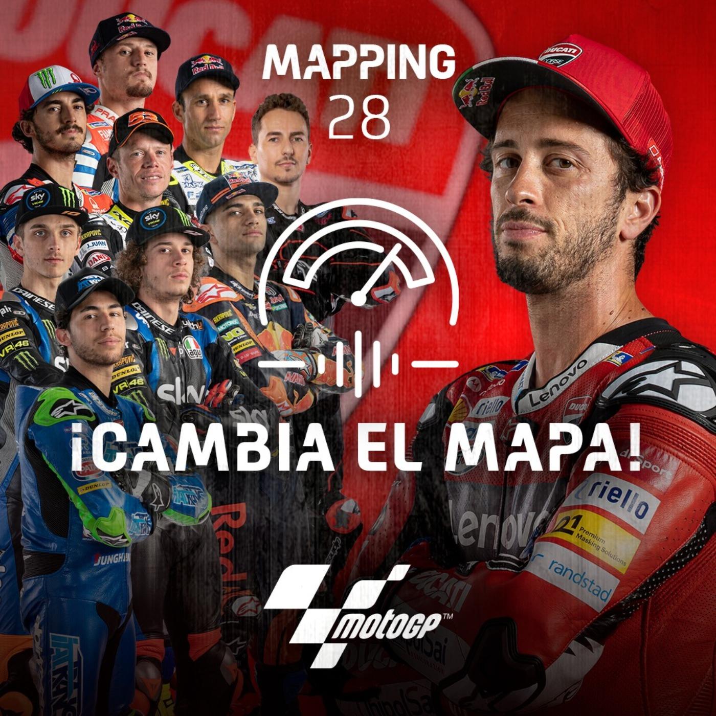 Mapping 28: Las cuentas de Dovizioso y el cambio generacional de Ducati