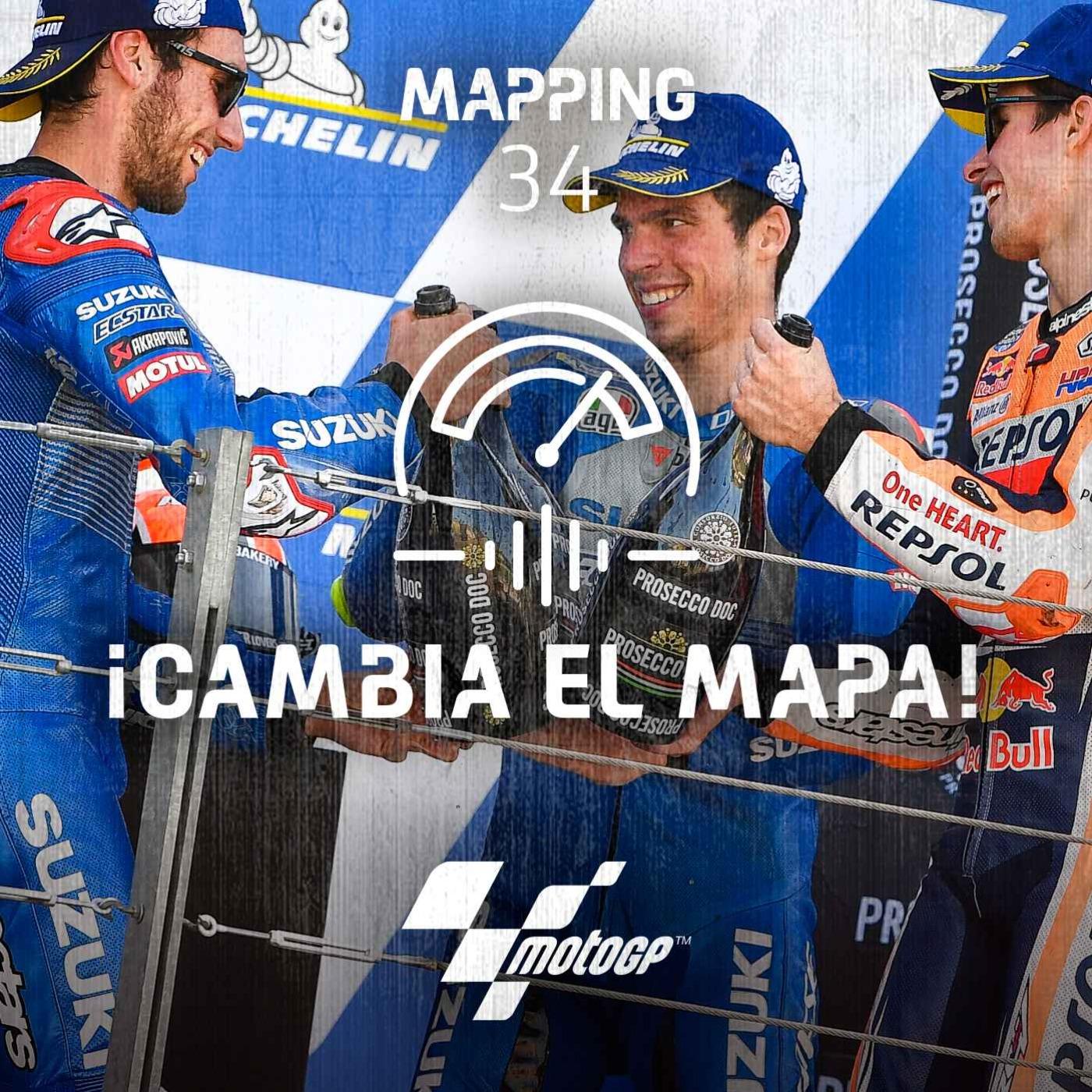 Mapping 34: Marea azul en el Mundial y explosión de Alex Márquez