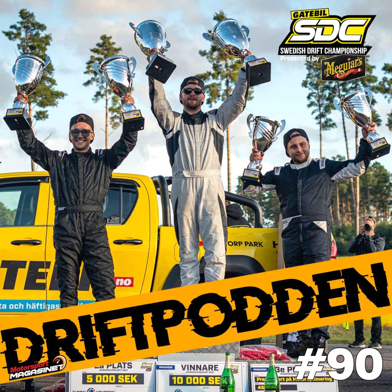 90. GSDC i Lidköping och Deanes första seger i RDS!