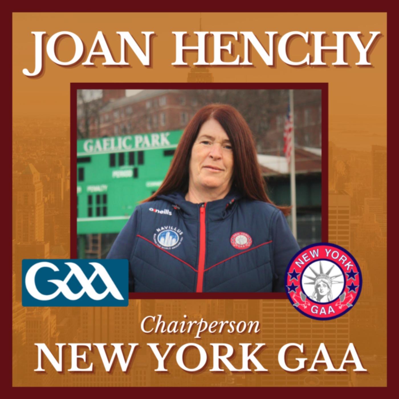 Joan Henchy – New York GAA County Board Chairperson