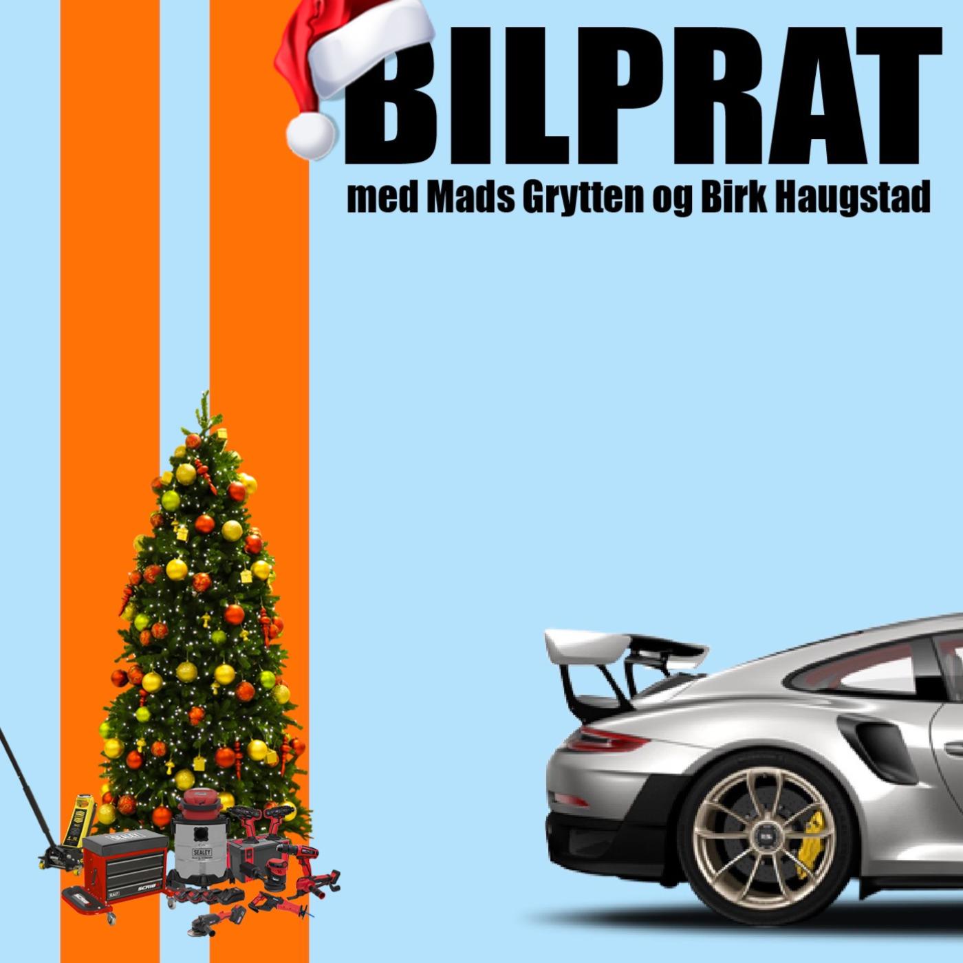 25 - Julespesial, montert LED-bar på minien, vi deler ut julegaver, Mads har lånt seg bil.