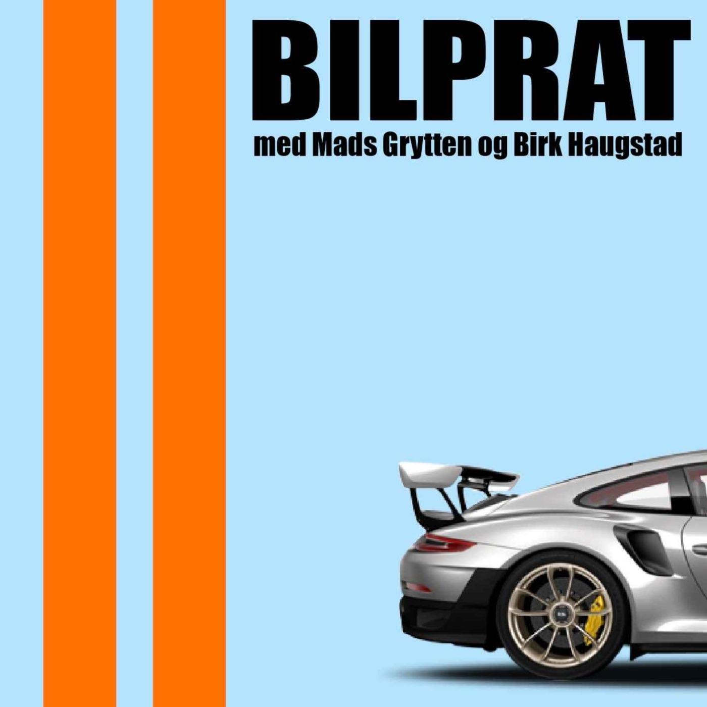 S03E01 Bilprat Podcast - Vi er tilbake! Isbanekjøring, Birk har handlet heftig bil og vi søker folk!