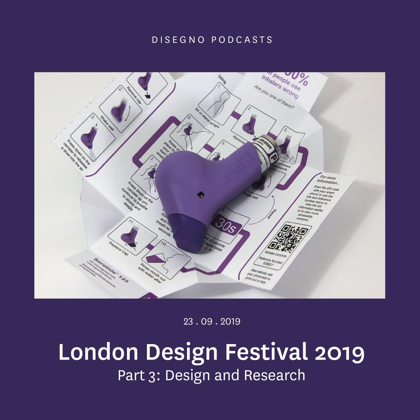London Design Festival 2019: Design and Research