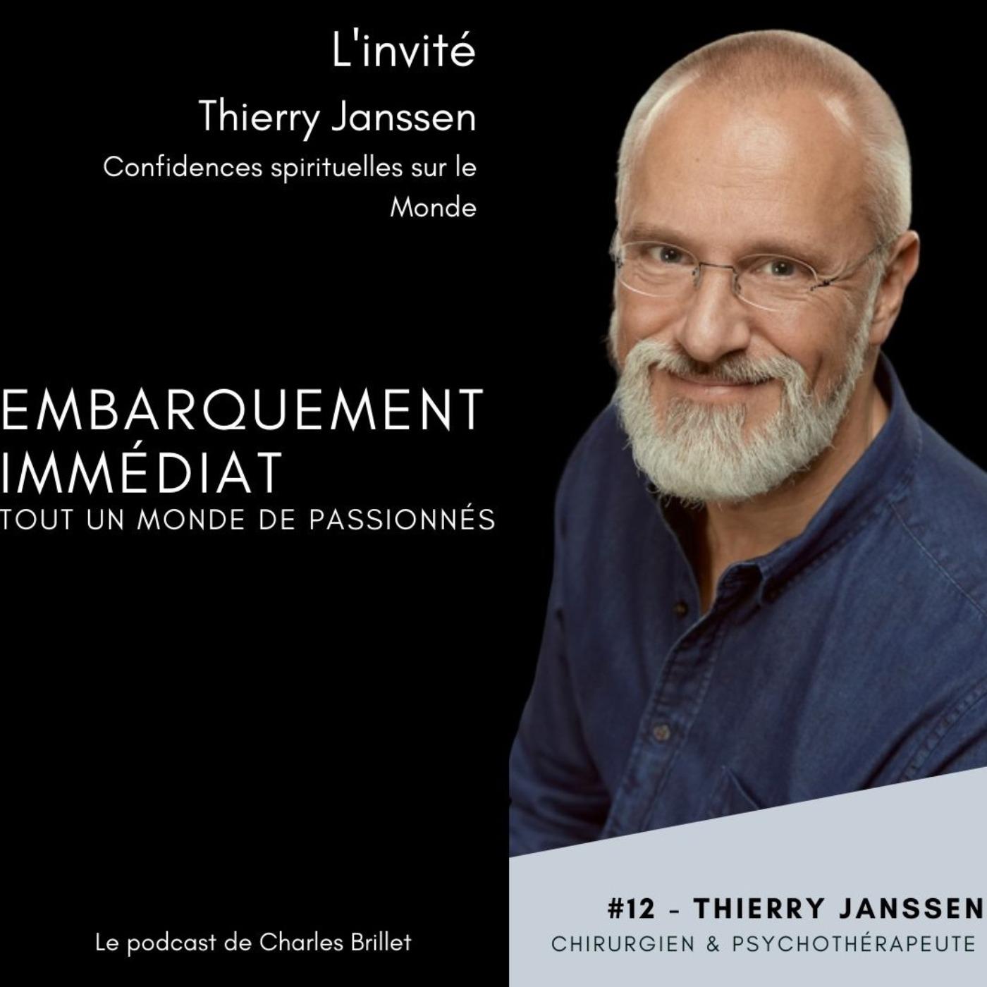 #12 - Thierry Jansenn - Confidences spirituelles - Bruxelles Belgique