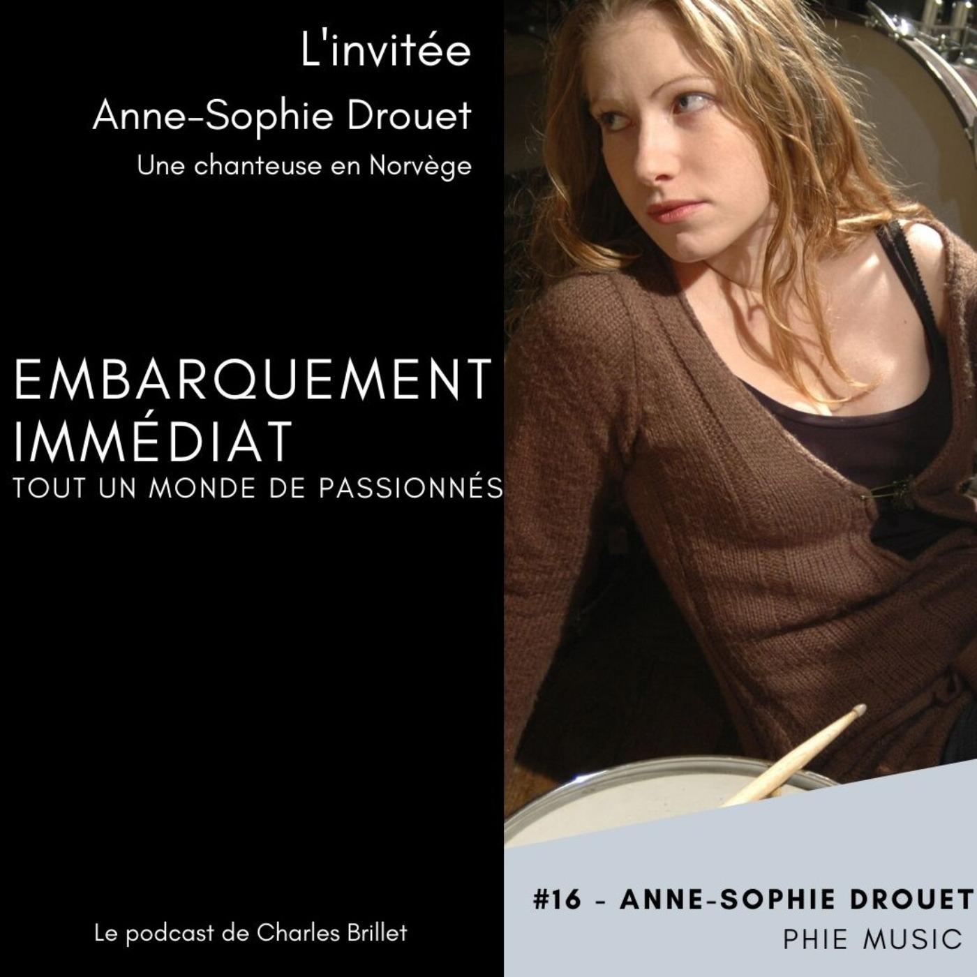 #16 - Anne-Sophie Drouet - Une chanteuse en Norvège - Tønsberg