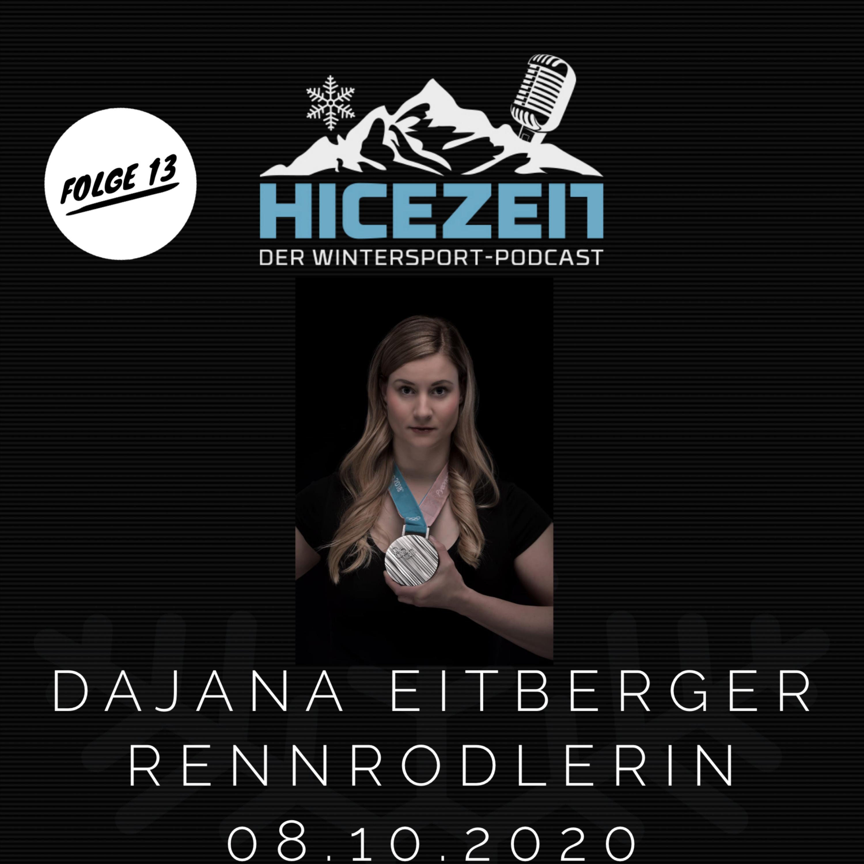 Dajana Eitberger, Rennrodlerin, Der Wintersport-Podcast Folge 13
