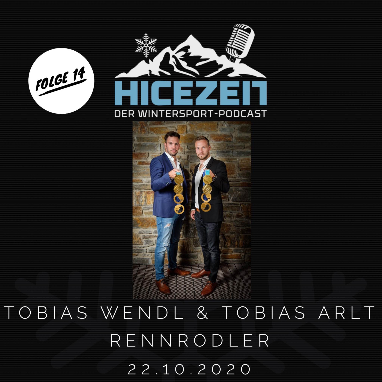 Tobias Wendl & Tobias Arlt, Rennrodler, Der Wintersport-Podcast Folge 14