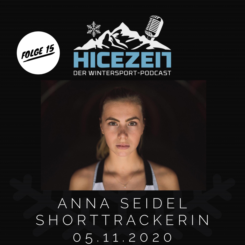 Anna Seidel, Shorttrackerin, Der Wintersport-Podcast Folge 15