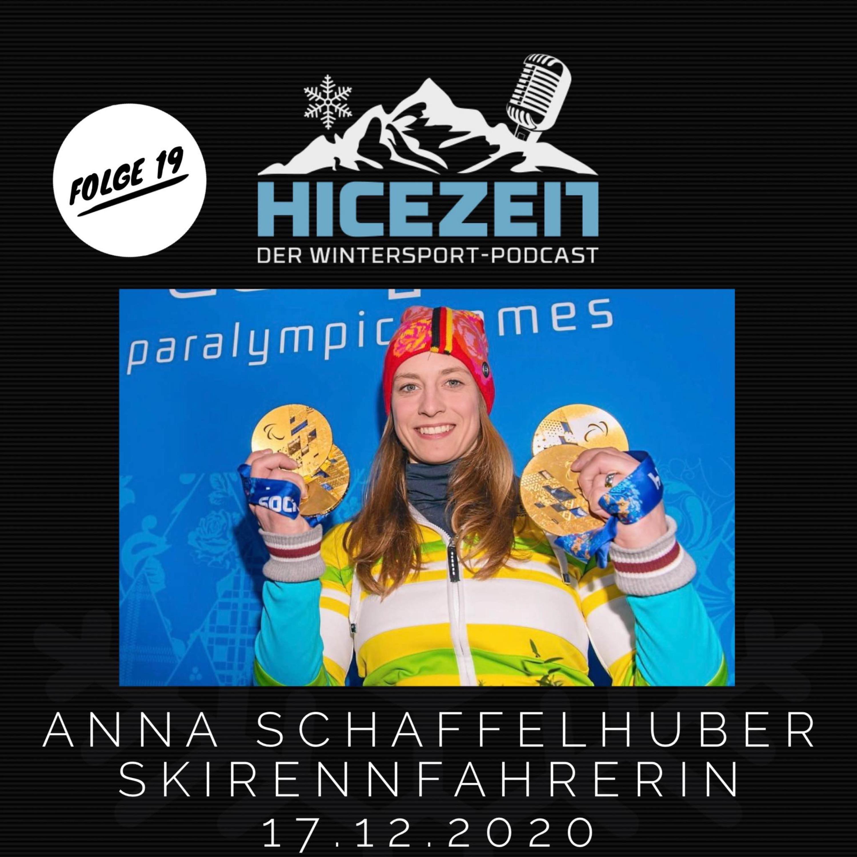 Anna Schaffelhuber, Skirennfahrerin, Der Wintersport-Podcast Folge 19