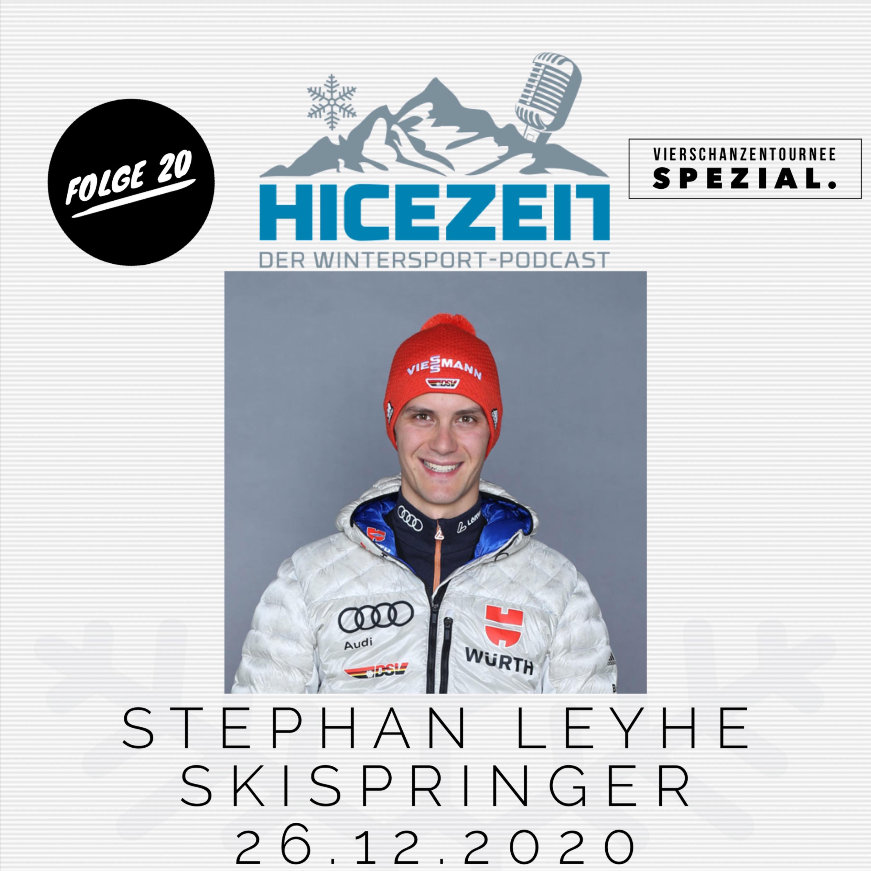 Stephan Leyhe, Skispringer, Vierschanzentournee-Spezial, Der Wintersport-Podcast Folge 20