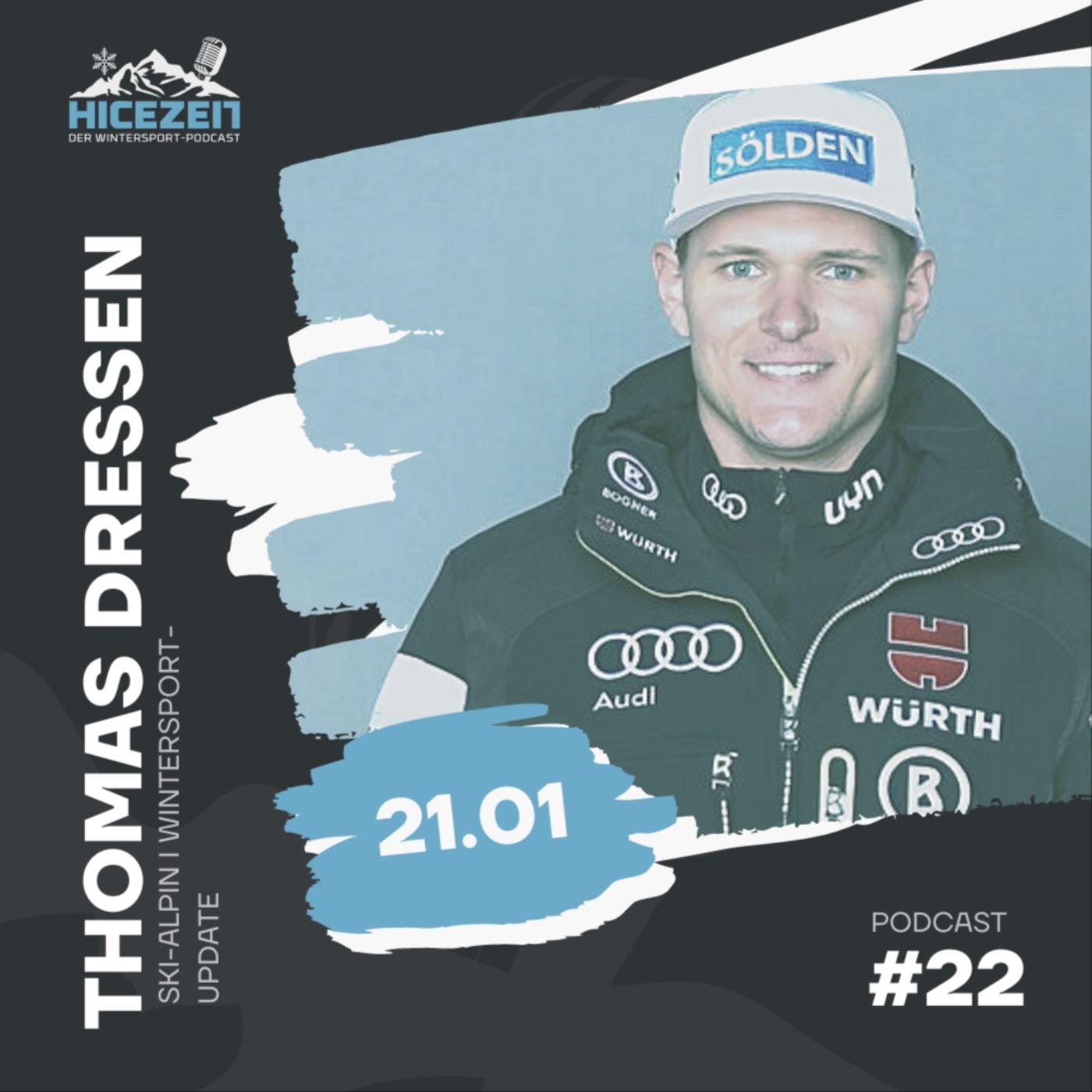 Thomas Dreßen, Ski-Alpin, Wintersport-Update, Der Wintersport-Podcast Folge 22