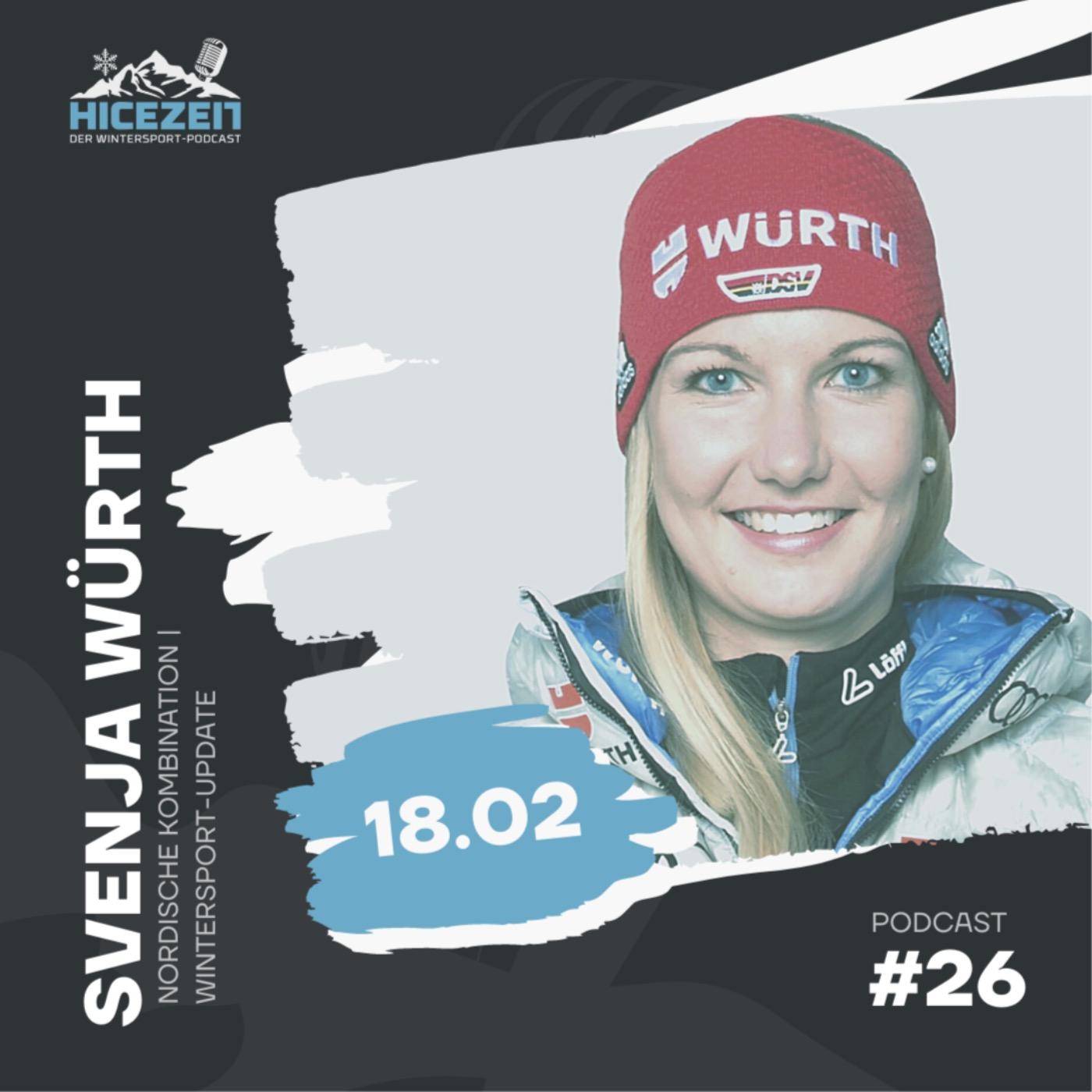 Svenja Würth, Nordische Kombination, Wintersport-Update, Der Wintersport-Podcast Folge 26.
