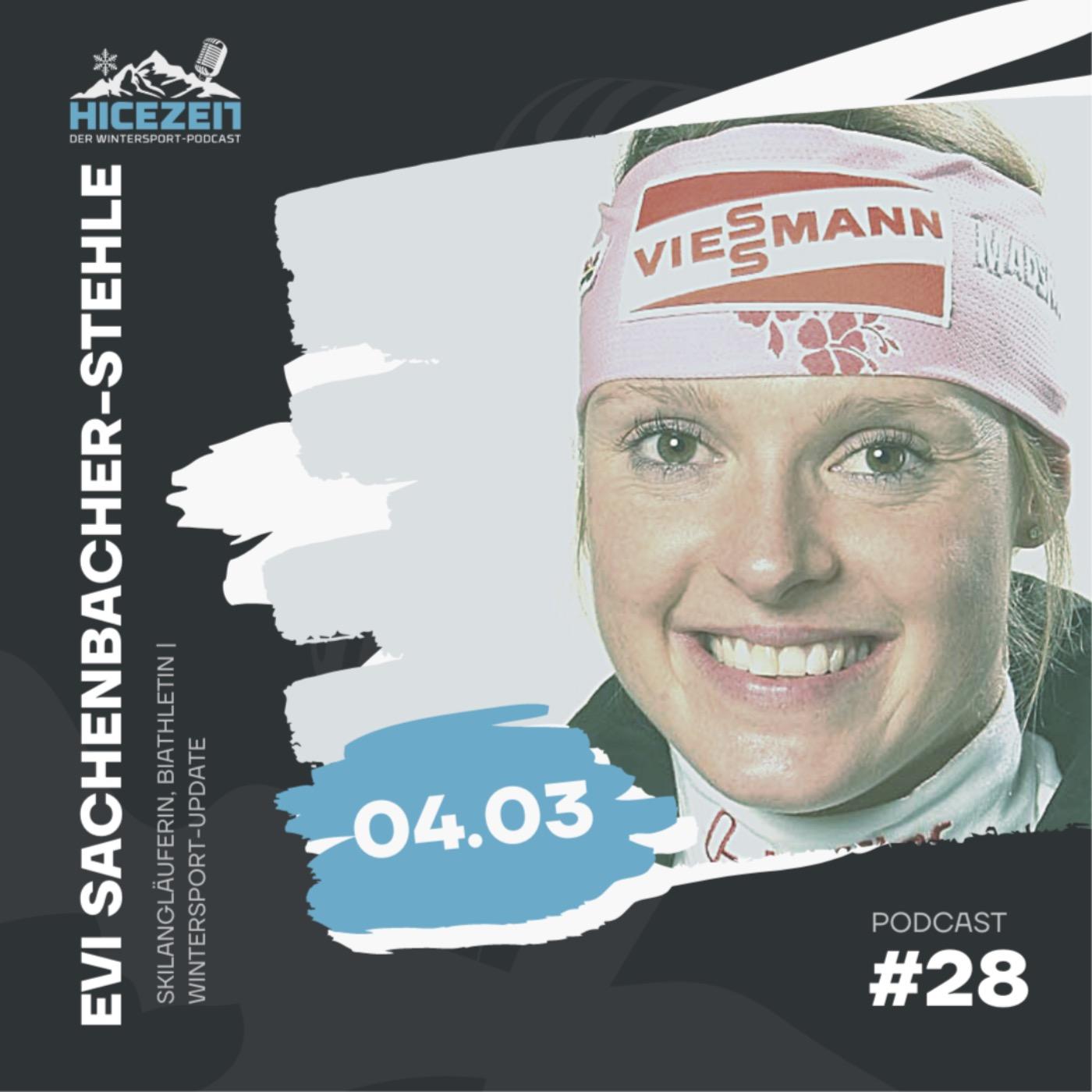 Evi Sachenbacher-Stehle, Langläuferin und Biathletin, Wintersport-Update, Der Wintersport-Podcast Folge 28.