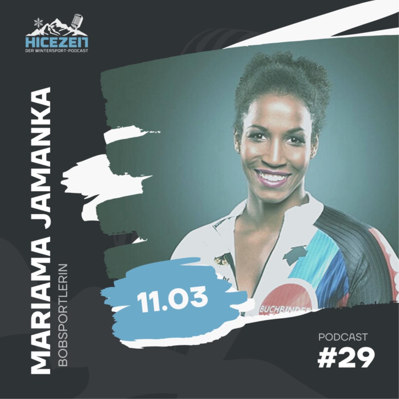 Mariama Jamanka, Bobsportlerin, Der Wintersport-Podcast Folge 29