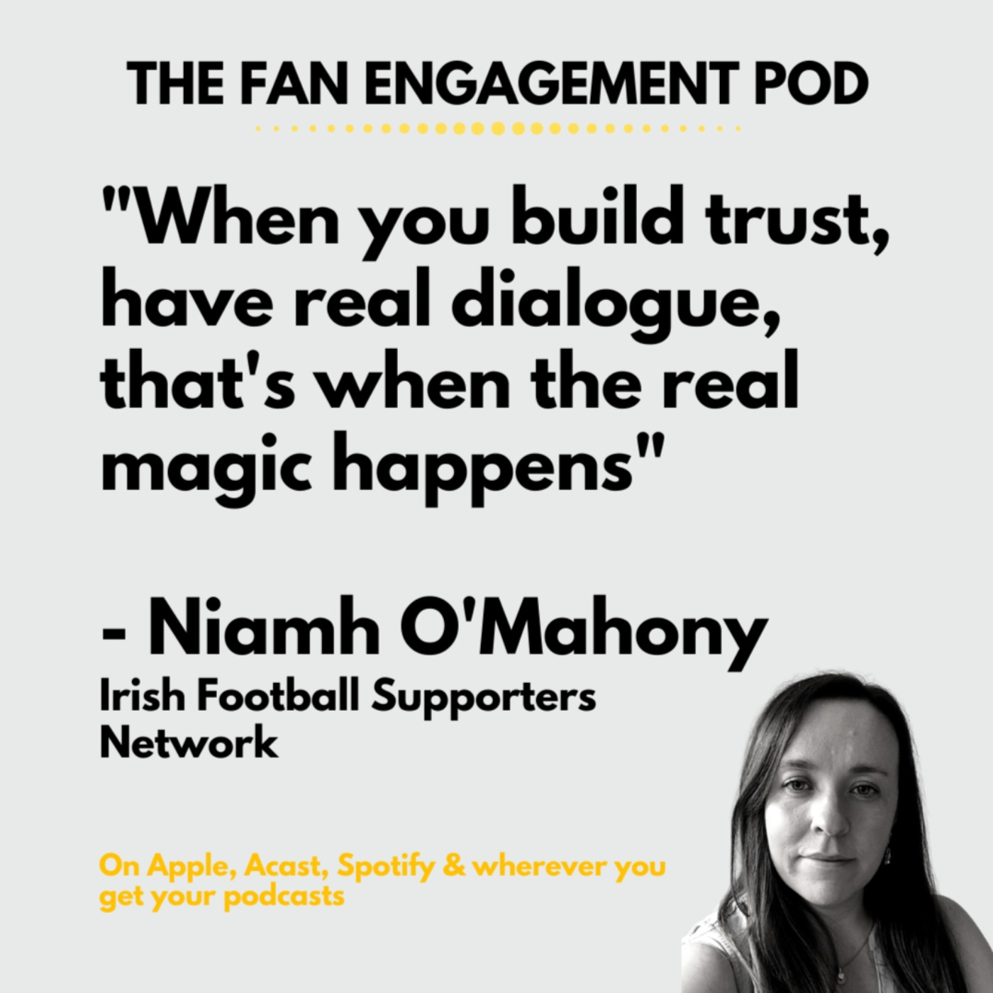 Fan-activism that engages the club with Niamh O'Mahony