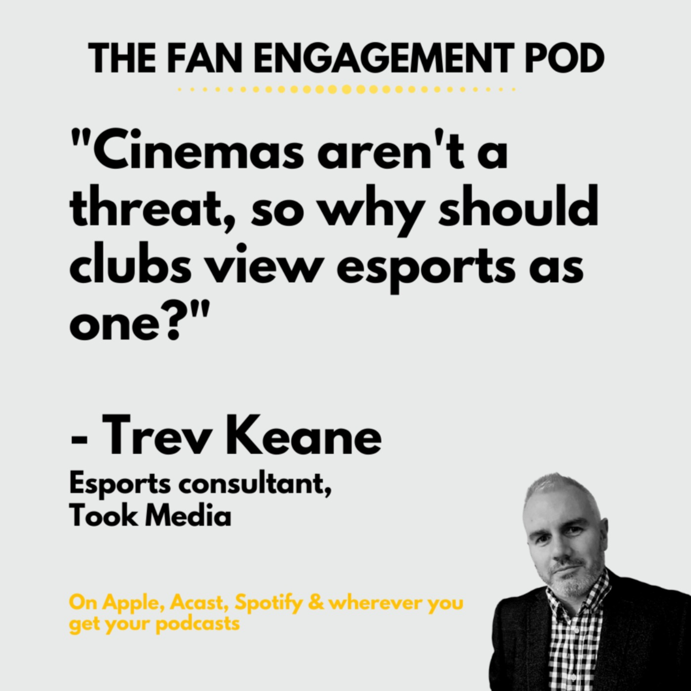 Epsorts with Trev Keane from Took Consulting