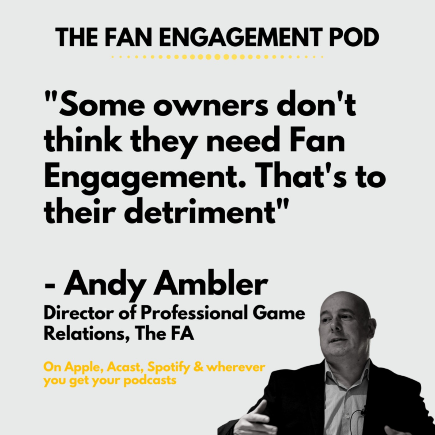 Man in the Middle: The FA's Andy Ambler