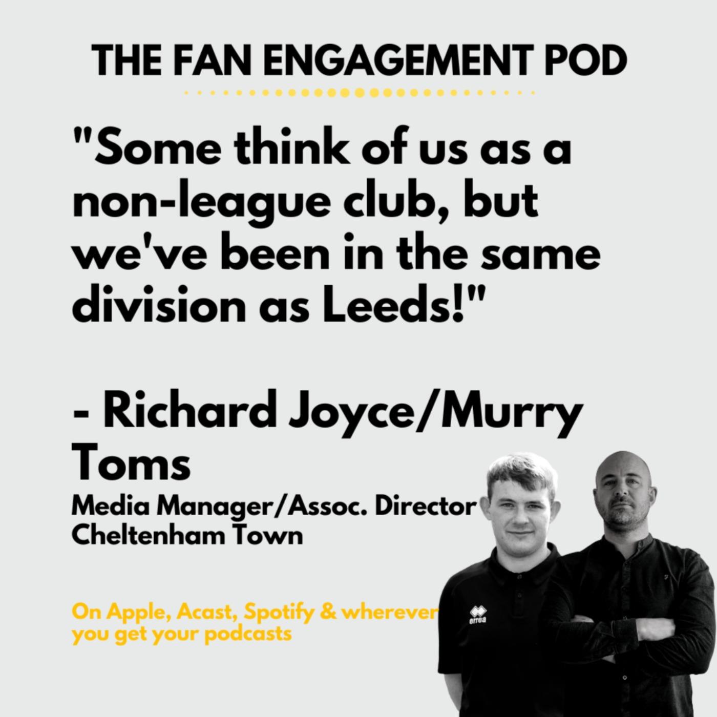 Cheltenham Town: Has Covid transformed engagement