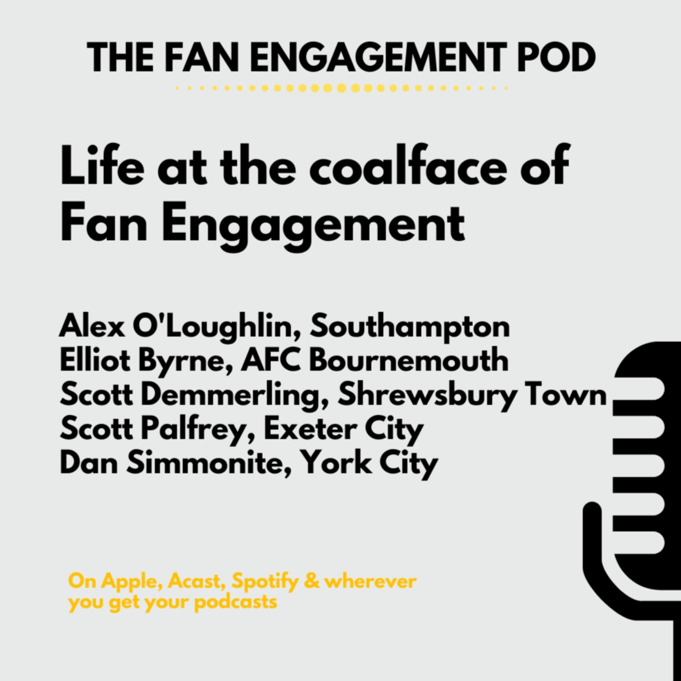 Fan Engagement at the coalface: EPL to National League
