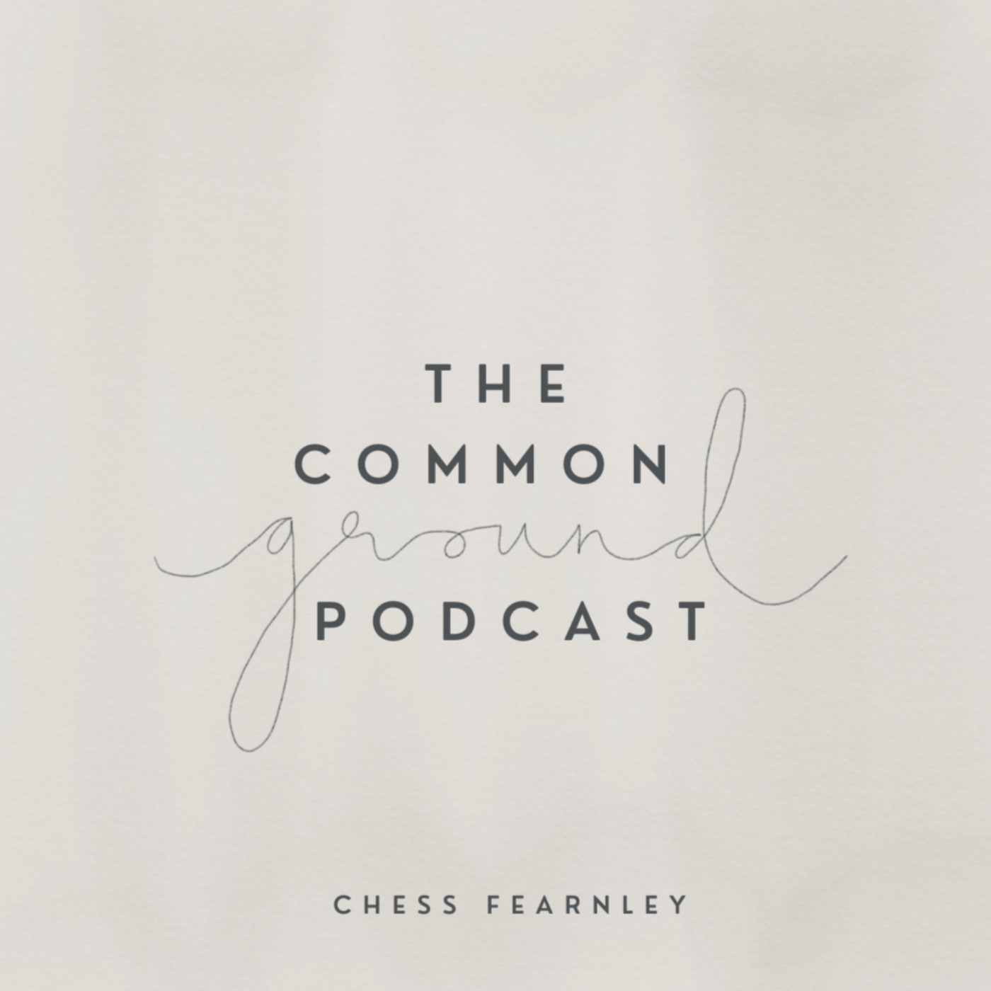 The Common Ground Podcast