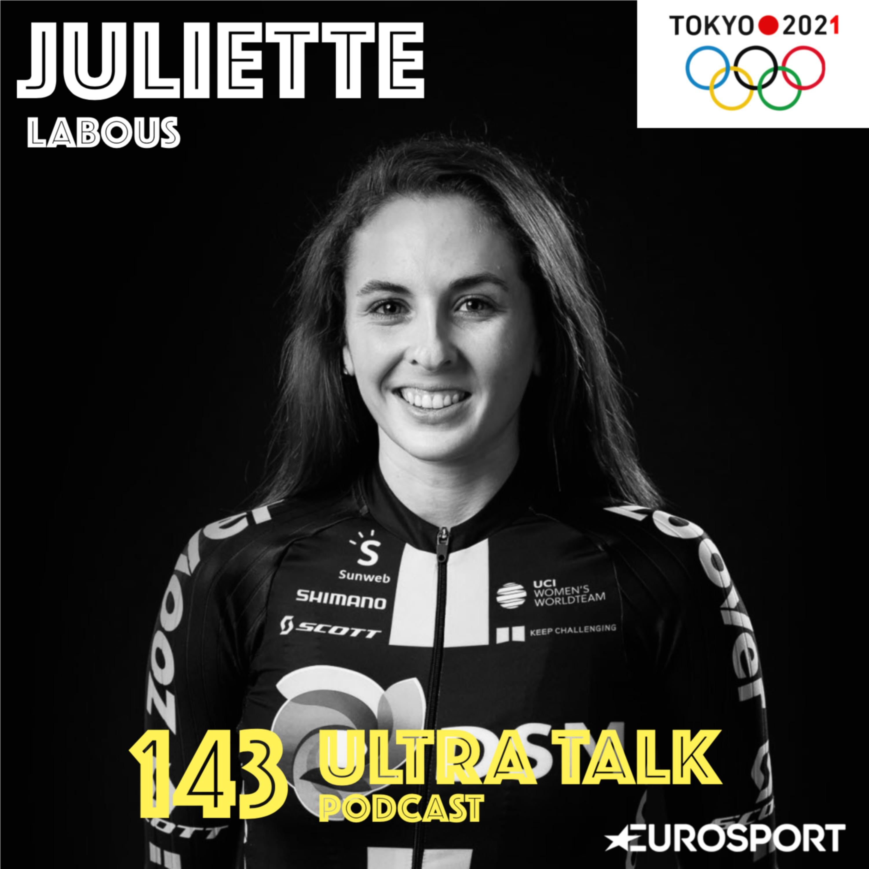 """Juliette Labous : """"Le report des Jeux, sur le coup ça a été la déprime mais rapidement je me suis dis que ça me laissait un an de plus pour être plus forte"""""""