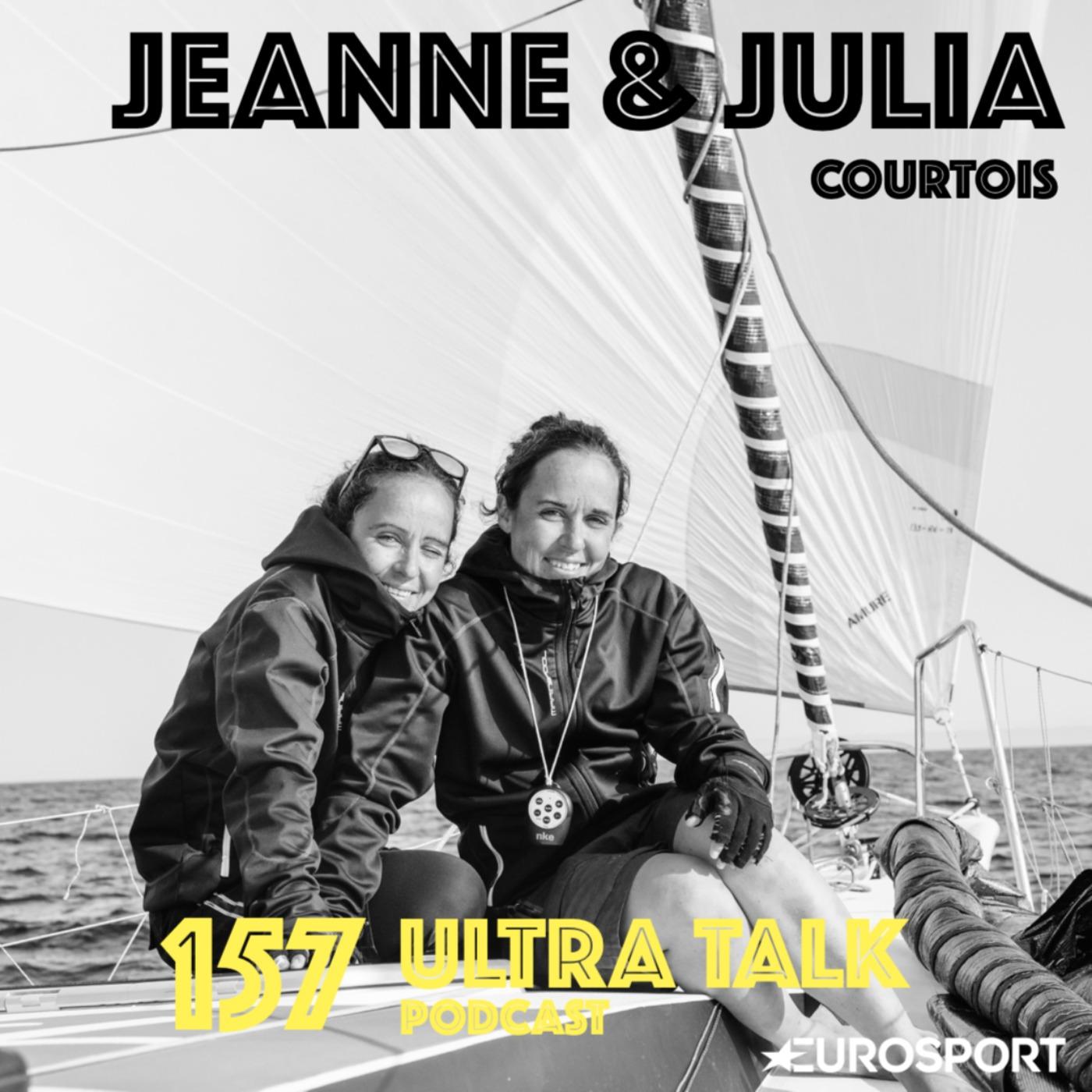 """Jeanne et Julia Courtois : """"Pour nous, c'est inédit de passer deux semaines sans utiliser nos jambes"""""""