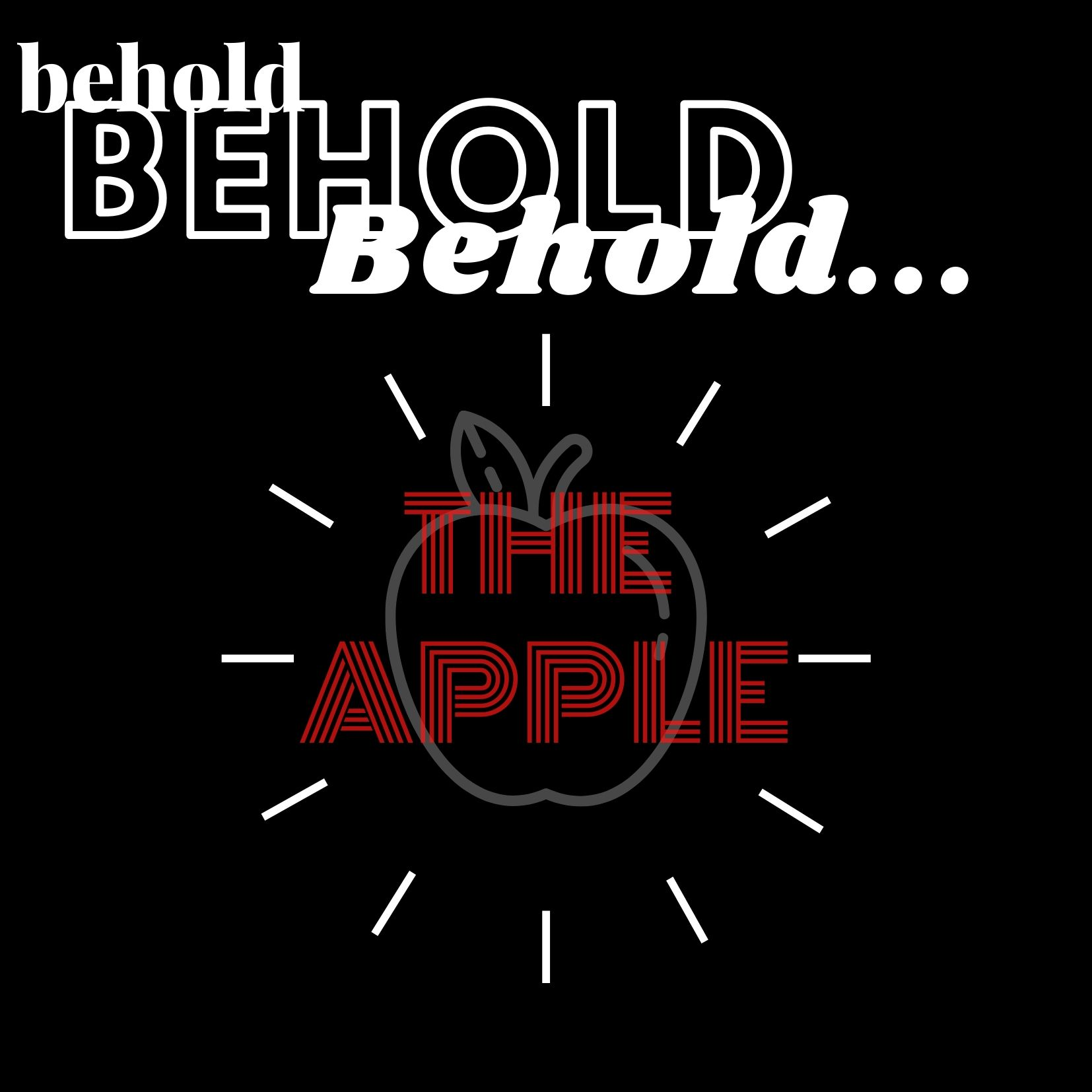 Behold... The Apple!