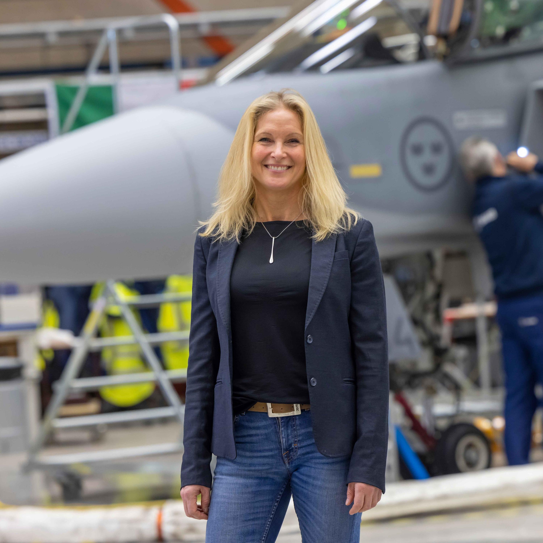 Pilotutbildning Gripen E - med Maria Sandberg från SAAB