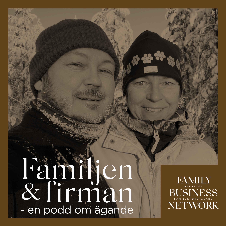 Familjen & firman med Karin och Marcus Bodin