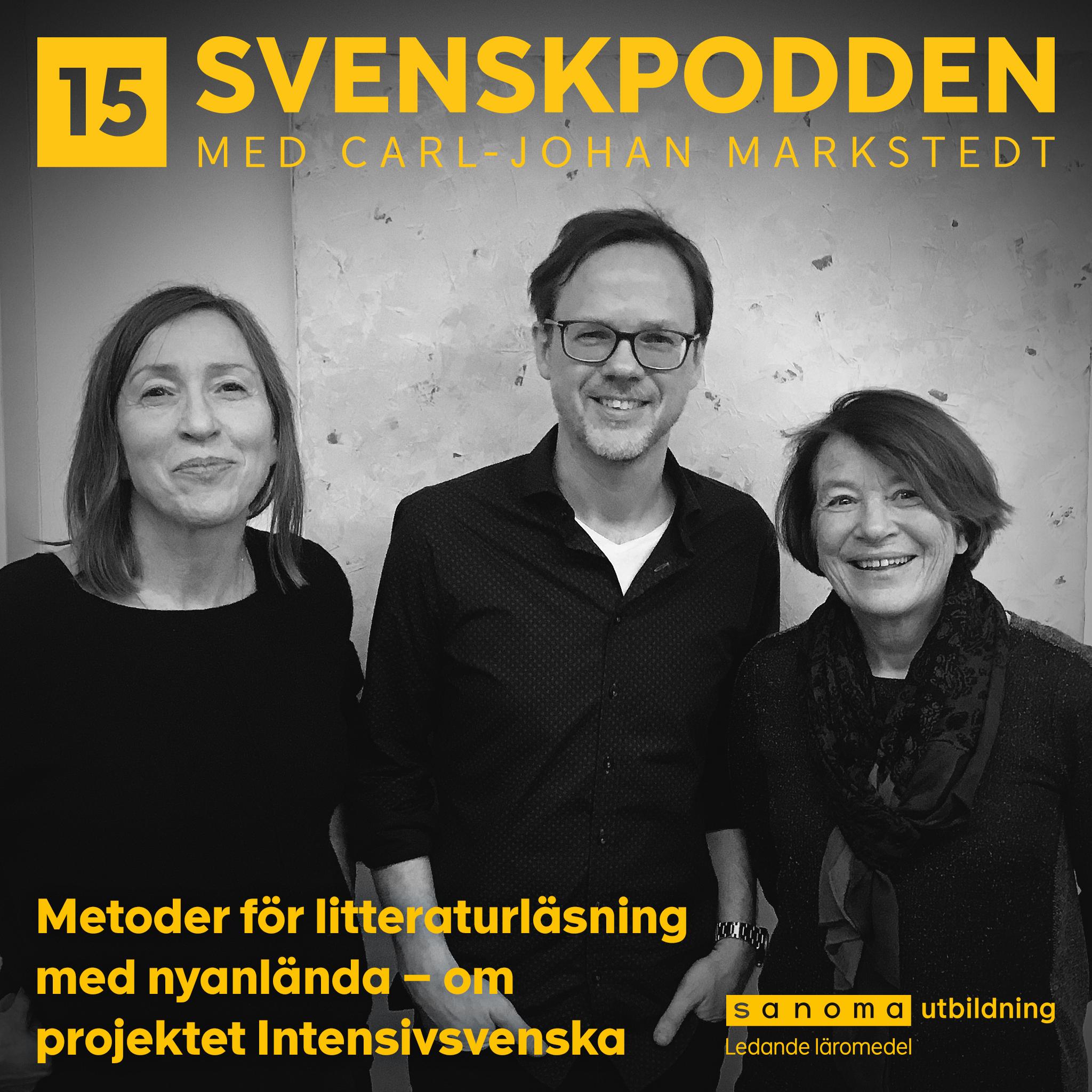 Svenskpodden med Carl-Johan Markstedt