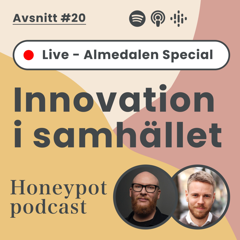 20. Innovation i samhället (Honeypot Live - Almedalen Special)