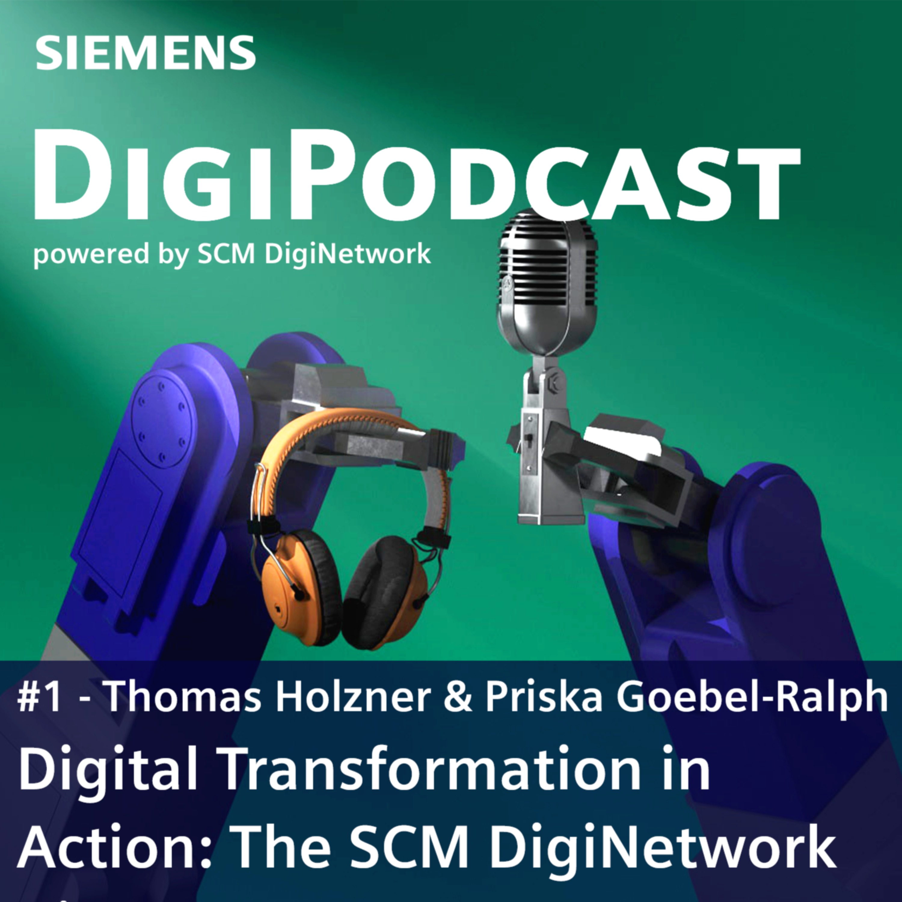 Digital Transformation in Action: The SCM DigiNetwork