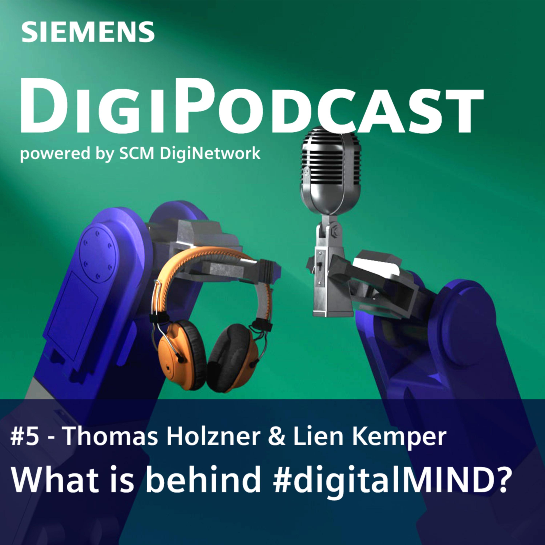 What is behind #digitalMIND?