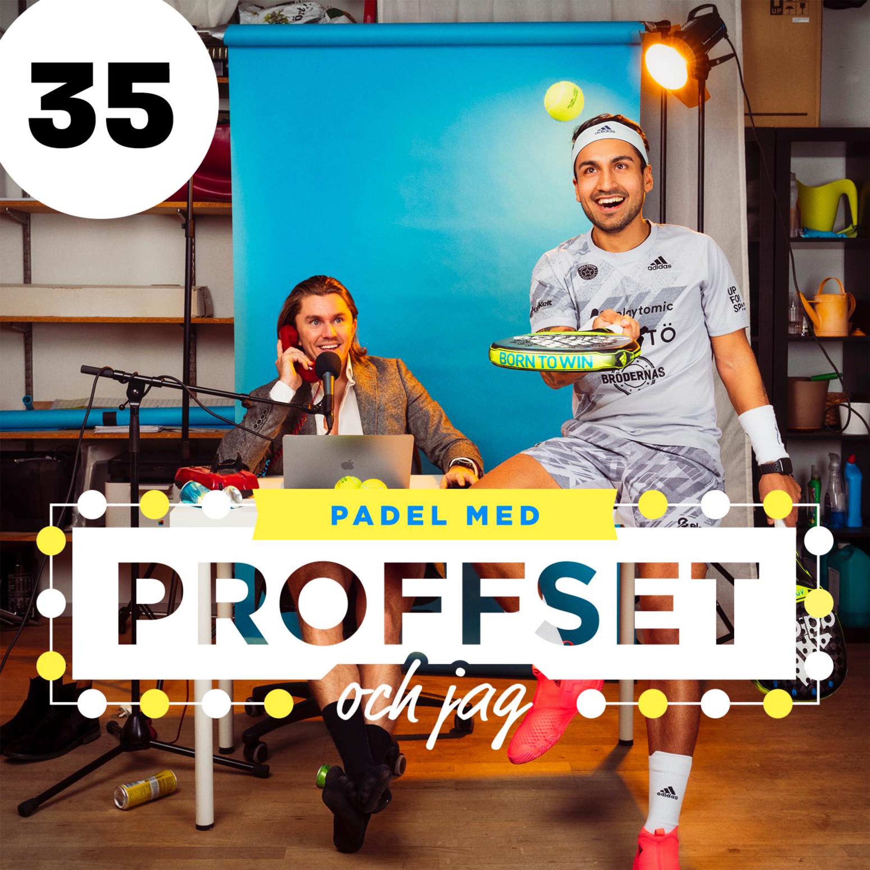 #35 Vi reder ut era padelproblem & Simon/Caye gör comeback?