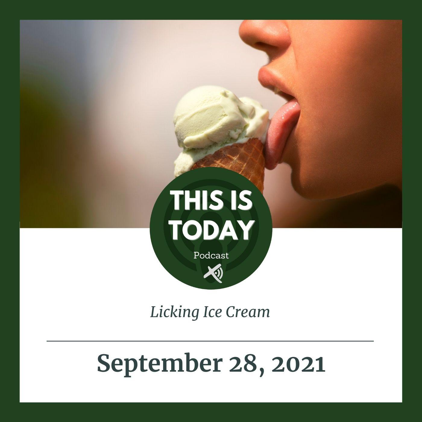 Licking Ice Cream