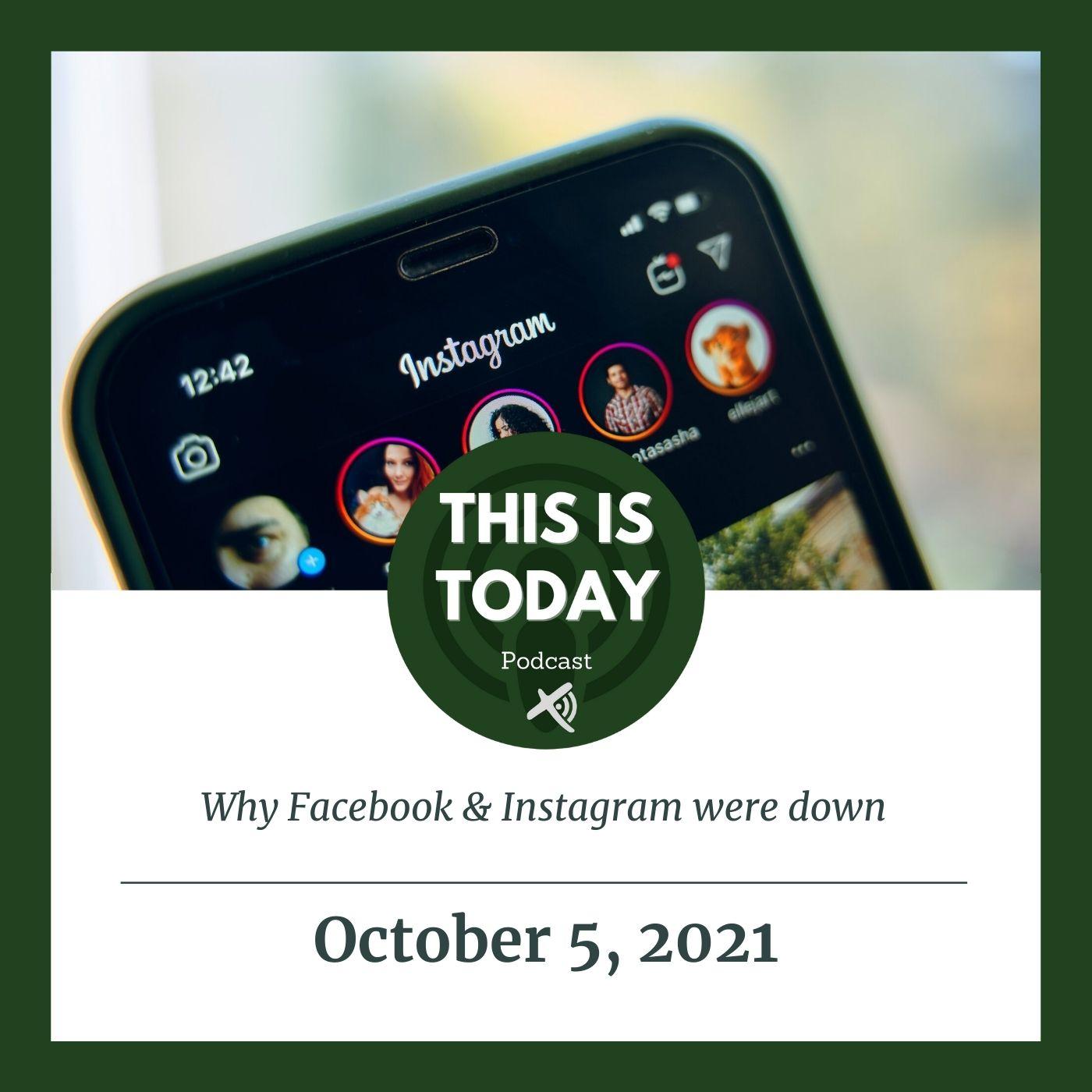 Why Facebook & Instagram were down