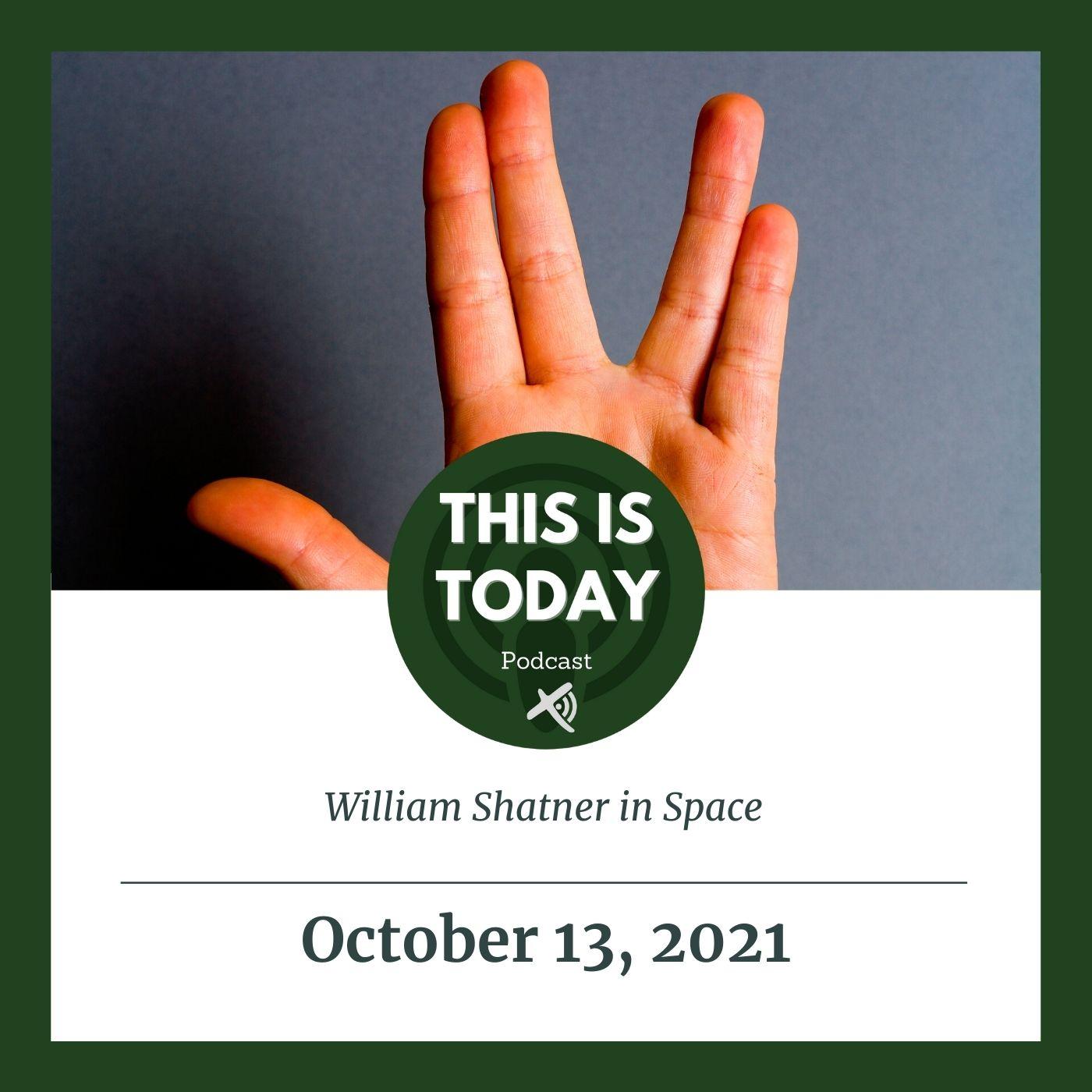 William Shatner in Space