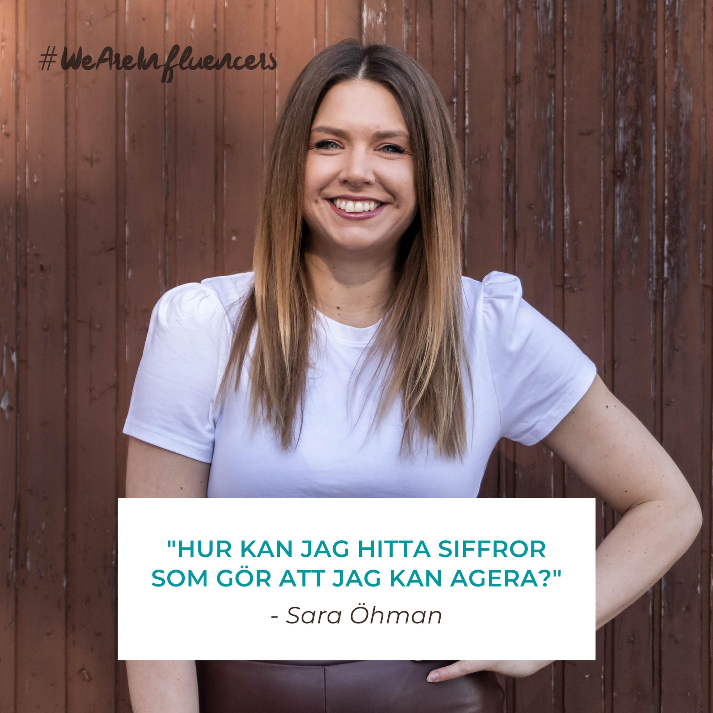 112. Jobba datadrivet för att växa på Instagram med Sara Öhman