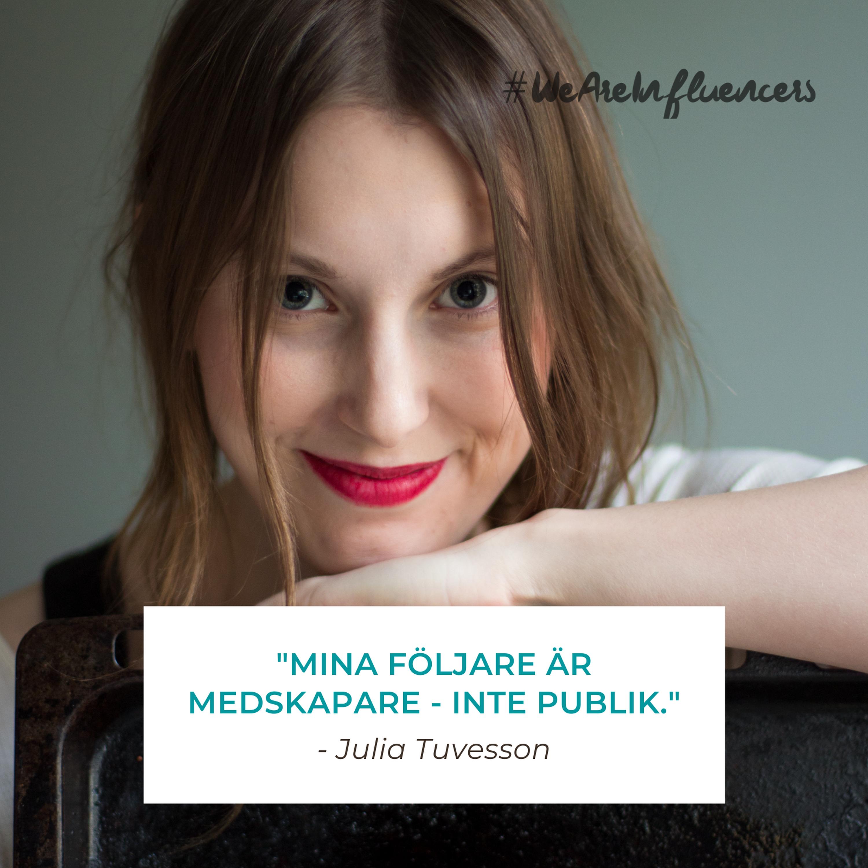 111. Att bygga ett medskapanade community med Julia Tuvesson
