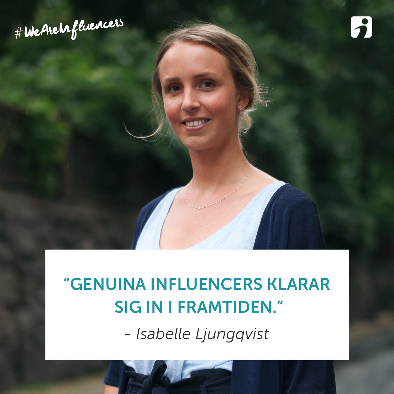 98. Om influencersamarbeten och längtan efter det genuina med Isabelle Ljungqvist