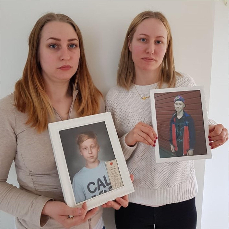 Leva med mord .Vi träffar Egils mamma Jessica och moster Camilla . Egil mördades 2017