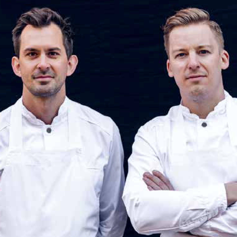 Adam & Albin om Misshumasshu, Guide Michelin och rutiga sneakers