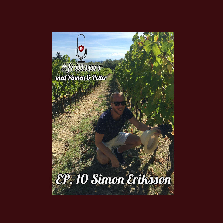 #frittsurr 10. Simon Kaiser Eriksson