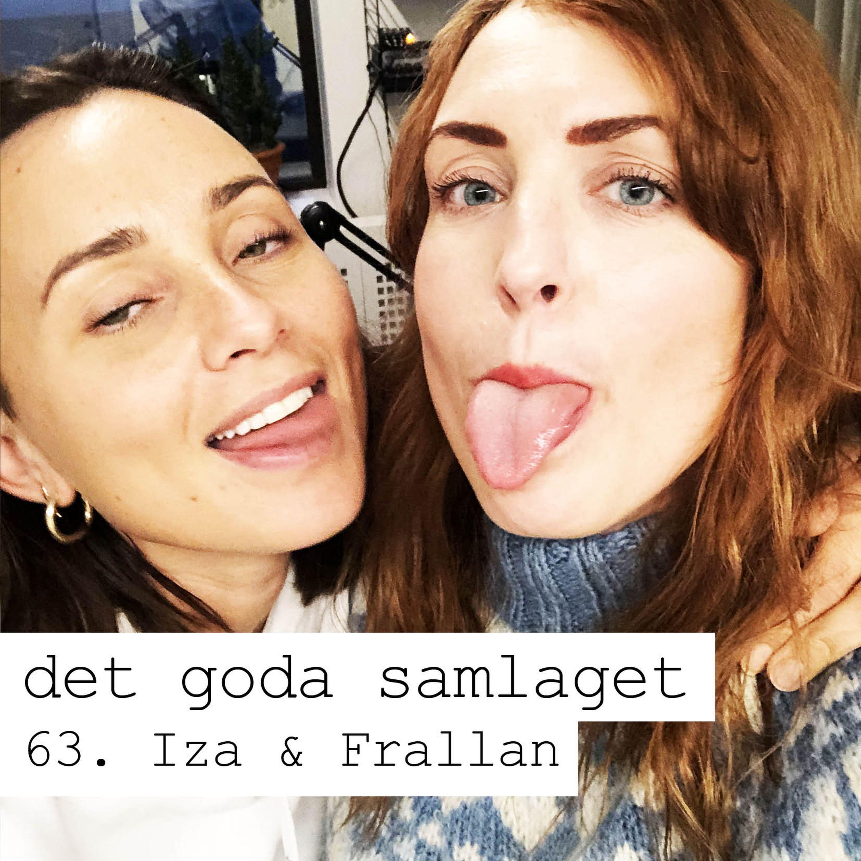 """63. Iza & Frallan - Säga """"hejhej"""" med tungan"""