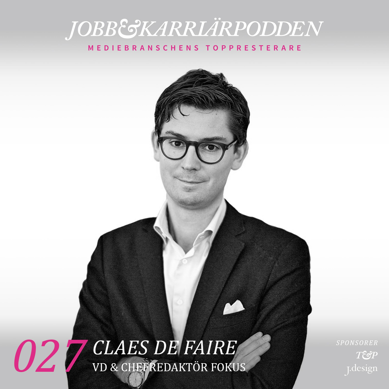 NR027 Claes De Faire vd och chefredaktör Fokus