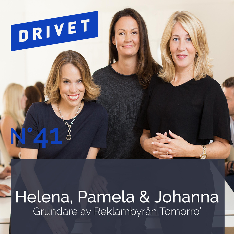 No. 41 - Helena, Pamela, Johanna, Reklambyrån Tomorro'